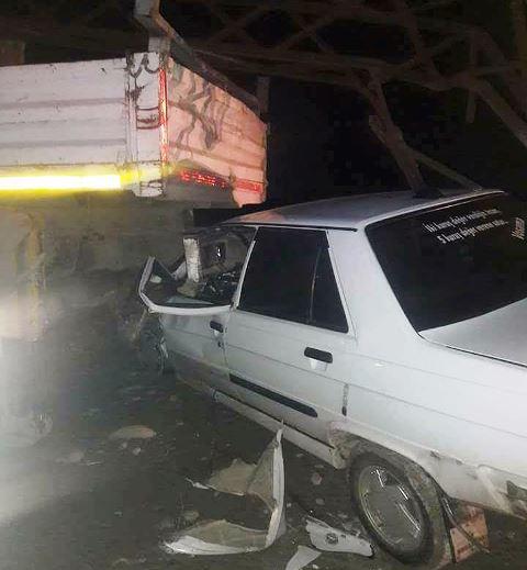Durağan- Boyabat Yolunda Feci Trafik Kazası, 1 Ağır Yaralı