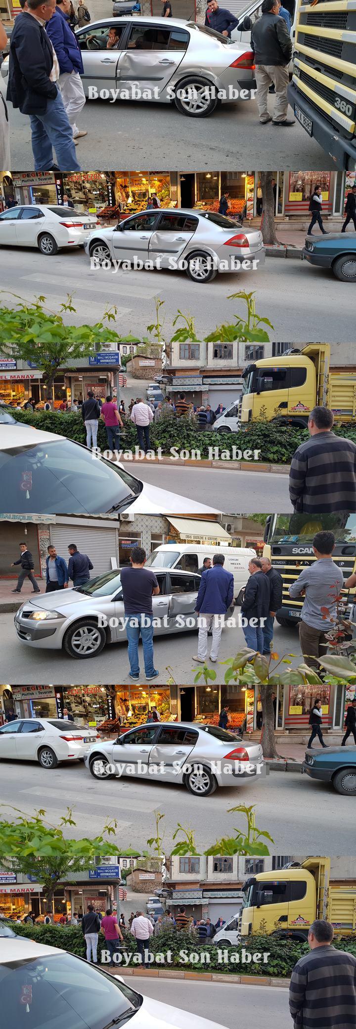 Boyabat Trafik Kazası