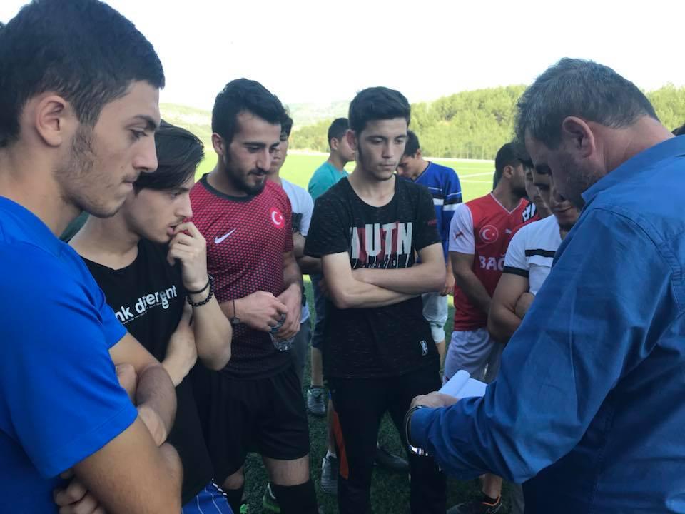 Boyabat'ta Futbolcu Seçmeleri Yapıldı