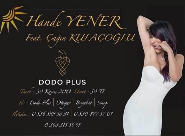 Hande Yener'in Boyabat Konseri Biletleri Satışa Çıktı