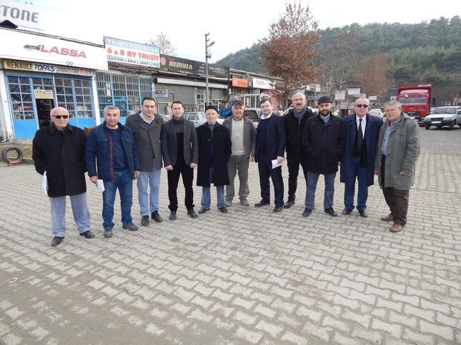 Boyabat İYİ Parti İlçe Teşkilatından, Sanayi Esnafına Ziyaret