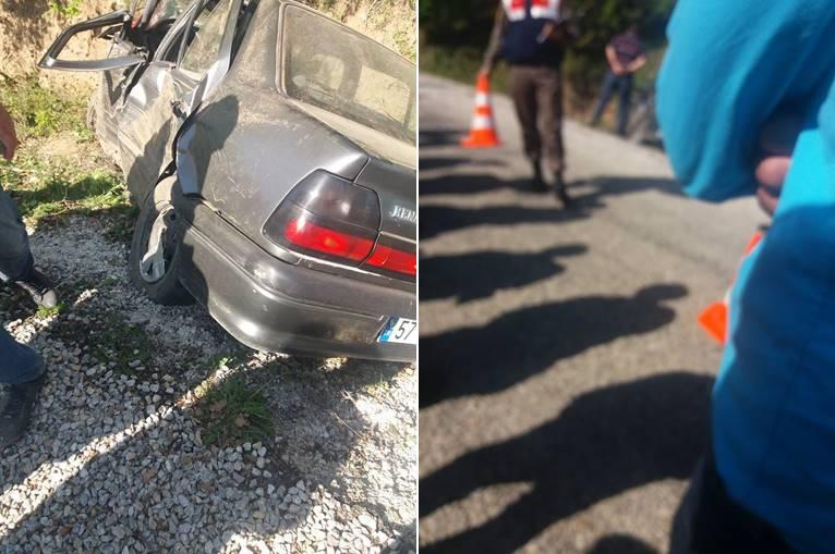 Karacaygöletinde Trafik Kazası. 1 Ölü