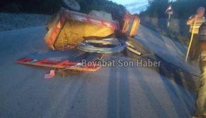 Saraydüzü Kargı Yolunda Trafik Kazası
