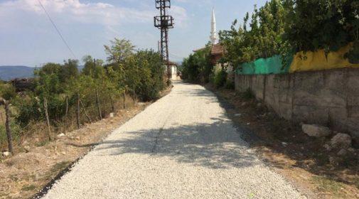 Yiğren Kayalı-Bölüklü-Yeni Mehmetli Grup Köy Yolu Yapıldı