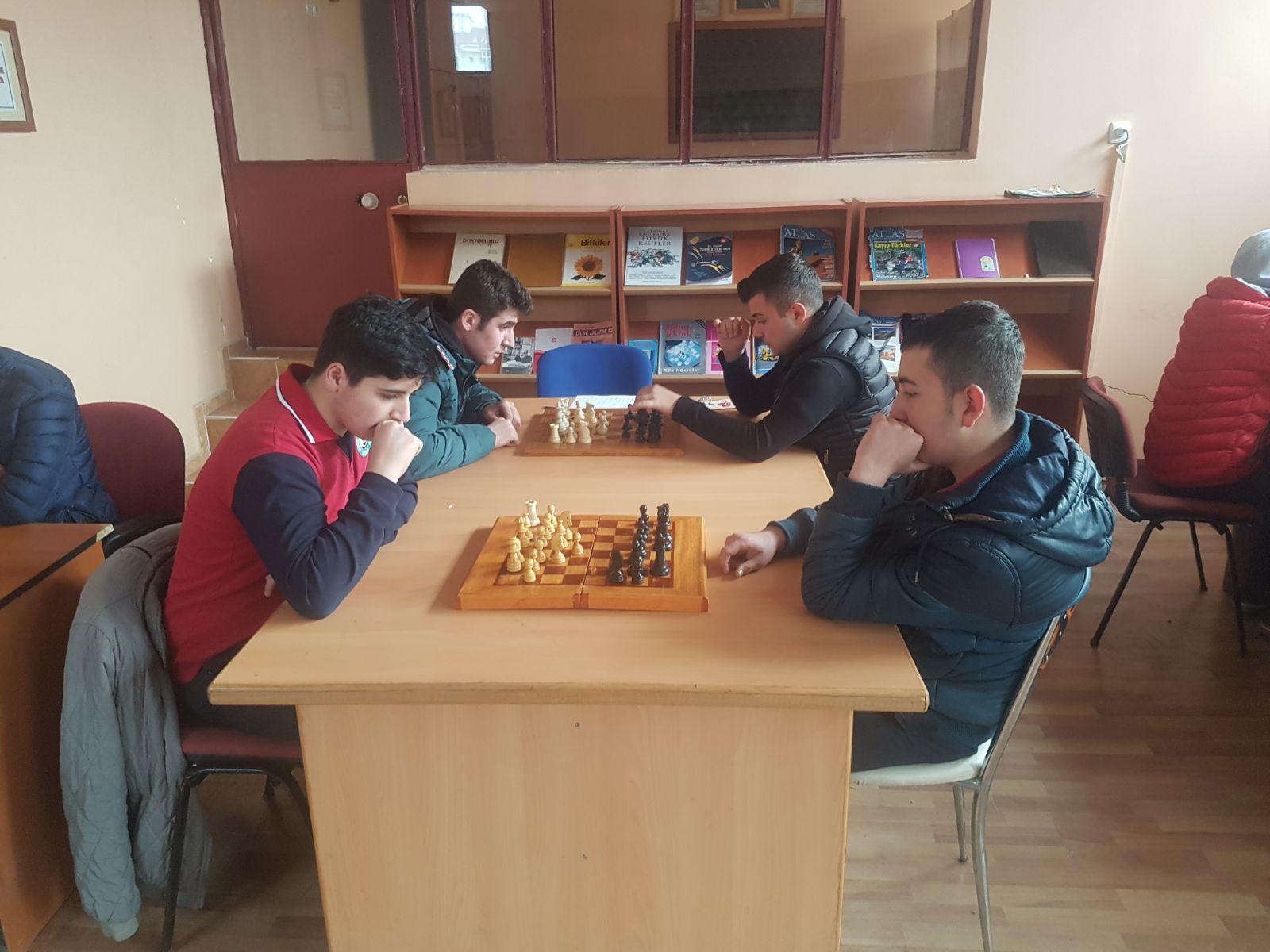 Mesleki ve Teknik Anadolu Lisesi Satranç Turnuvası Sona Erdi