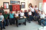 Boyabat MHP'DE Bayramlaşma Yapıldı