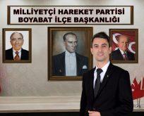 Boyabat MHP'den Yeni Eğitim Öğretim Yılı Mesajı