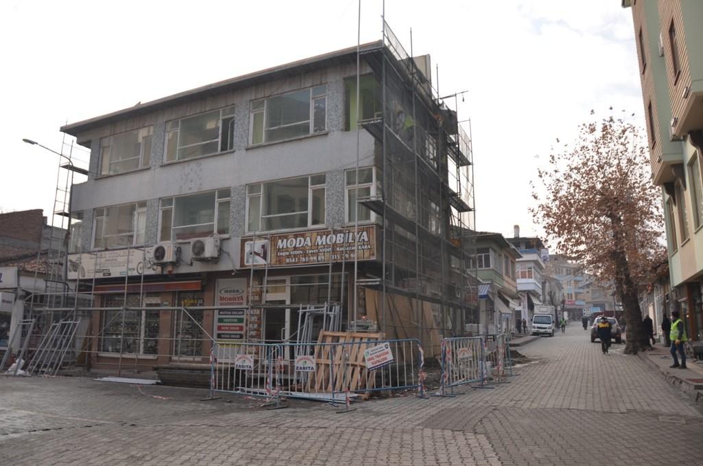 TARİHİ ORTA ÇARŞIMIZIN RESTORASYONUNA BAŞLANDI