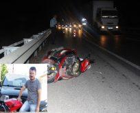 Boyabat- Sinop Yolunda Feci Motosiklet Kazası, 1 Ölü, 1 Yaralı…
