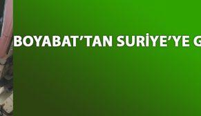 SURİYE'YE BİR BOMBADA BOYABAT'TAN