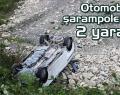 Boyabatlı Otomobil Türkelide Kaza Yaptı, 2 Yaralı