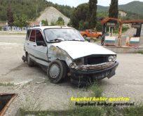 Osman Köyü Mevkiinde Trafik Kazası. 3 Yaralı