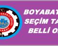 Boyabat TSO seçim tarihi belli oldu