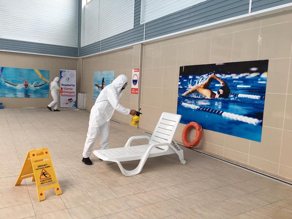 Yüzme Havuzu kapılarını yeniden açıyor