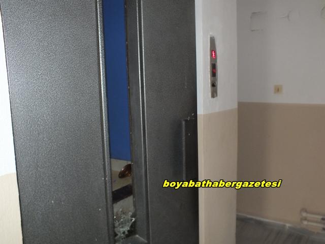 Boyabat'ta Asansör Faciası