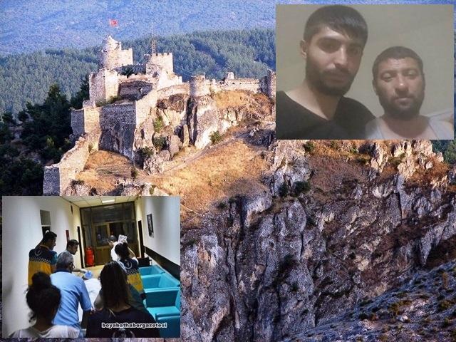 2 Genç Boyabat Kalesinden, Gazidere Çayına Düştü, 1 Ağır Yaralı