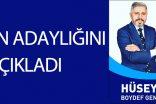 Boydef Genel Başkan Adaylığını Açıkladı