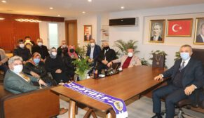 Sinop'lu STK'lardan Başkana Ziyaret