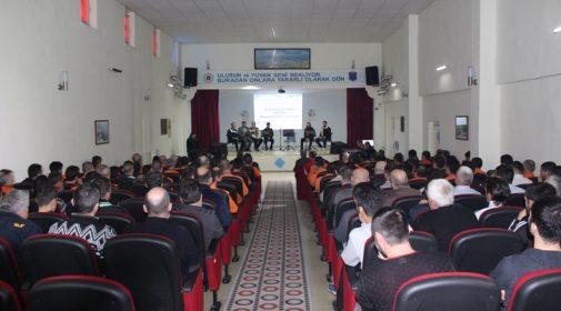 Sinop E Tipi Kapalı Cezaevinde Mevlid-İ Nebi Programı