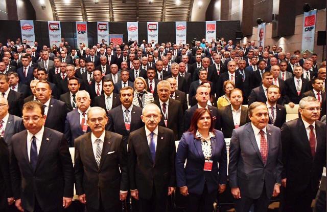 Cumhuriyet Halk Parti'li Belediye Başkanları tam kadro Anıtkabir'i ziyaret etti.