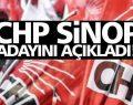 CHP Sinop adayını açıkladı