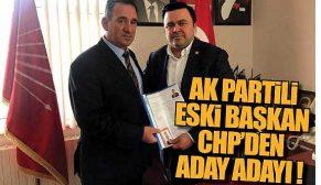 Sinop CHP'de sürpriz başvuru