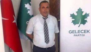 Gelecek Partisi Durağan İlçe Başkanı Mustafa Özyurt Oldu
