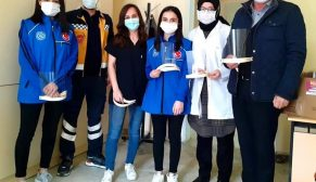 Durağan Gençlik Merkezinden Siper Maske