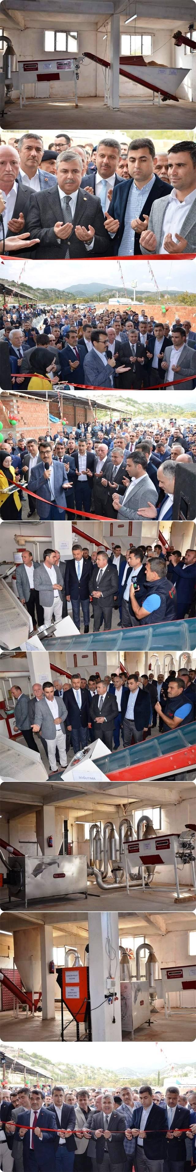 Dün (19.10.2019.Cumartesi) Durağan İlçesinde ENERSAN PELET Fabrikası Dualarla Açıldı.