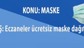Eczaneler ücretsiz maske dağıtacak. Ama Nasıl.