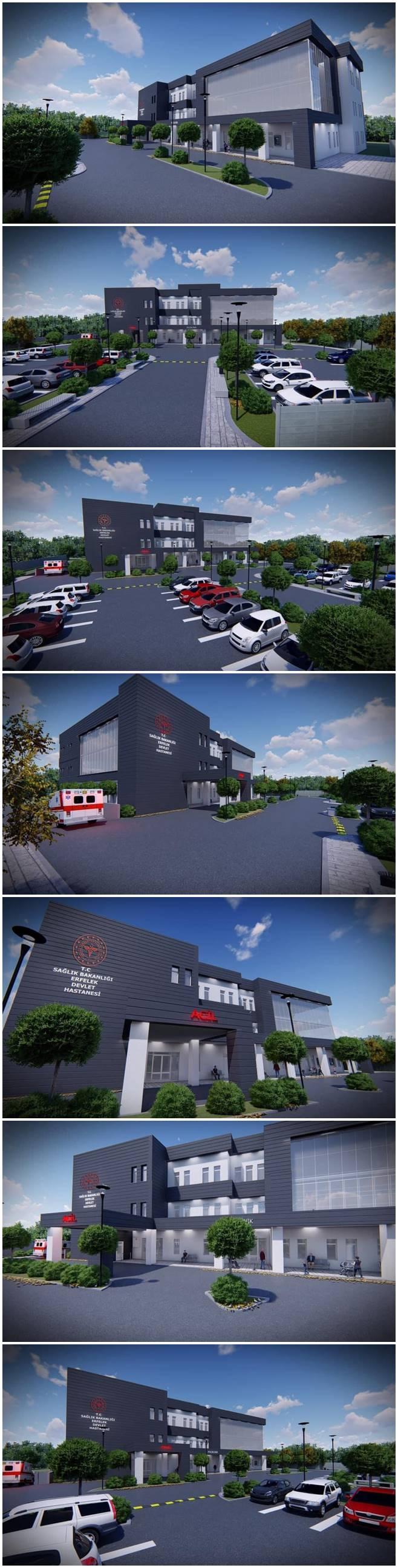 Erfelek'li hemşerilerimiz için yeni devlet hastanesi yapımına başlanıyor