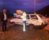 Erfelek MHP İlçe Başkanı Trafik Kazası Geçirdi!
