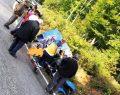 Pat Pat Traktörü Devrildi 3 Yaralı