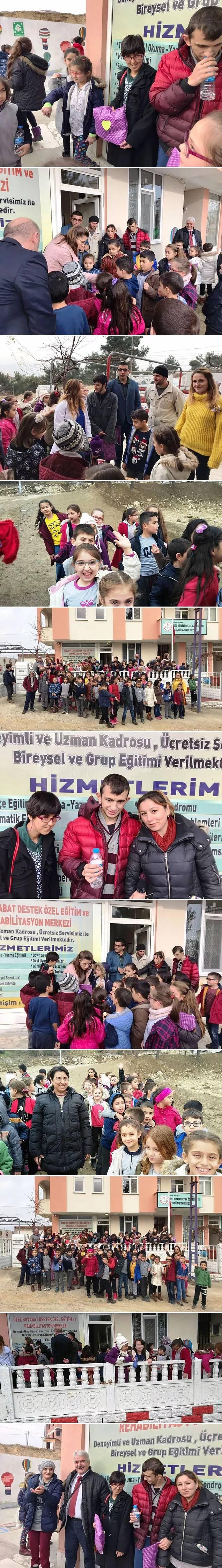 Abdurrahman Güneş İlkokulu Öğrencilerinden Özel Okul Öğrencilerine Ziyaret