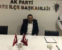 AK Partide Belediye Başkan Aday Adaylığını Açıkladı