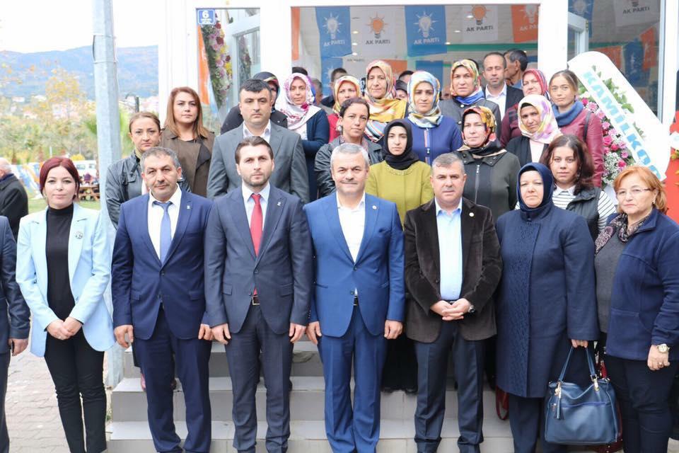 Gerze Akparti İlçe Başkanlığına BAYRAK Seçildi