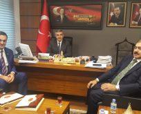 Chp'li Başkanlar Orman ve Su İşleri Bakanı Eroğlu'nu Ziyaret Etti