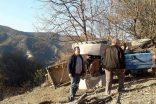 Köyde Odun Yüklü Traktör Devrildi, 1 Ölü