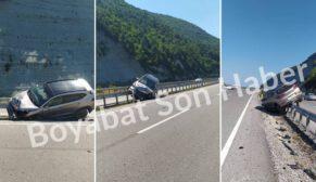 Gerze Yolu Trafik Kazası