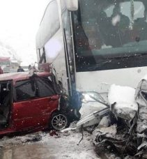 Görelespor Büyük Kaza atlattı