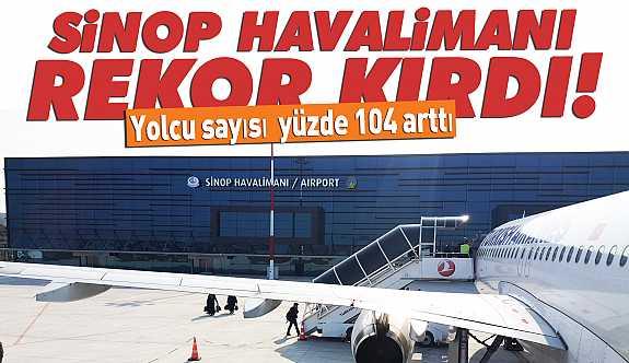 Haziran ayında 16 bin 857 yolcu uçtu