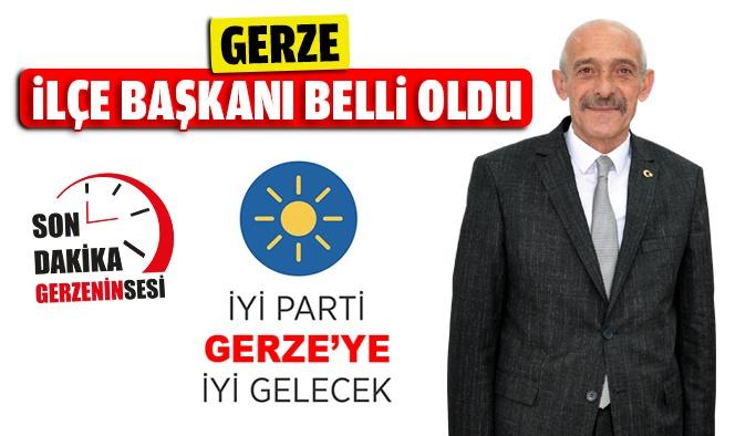 İYİ Parti Gerze İlçe Başkanı Belli Oldu