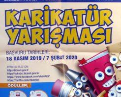 Türkiye Geneli Liseler Arası Karikatür Yarışması