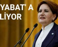 MERAL AKŞENER BOYABAT' A GELİYOR..