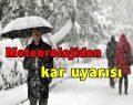 Sinop ve Çevresine Kar Yağışı Uyarısı