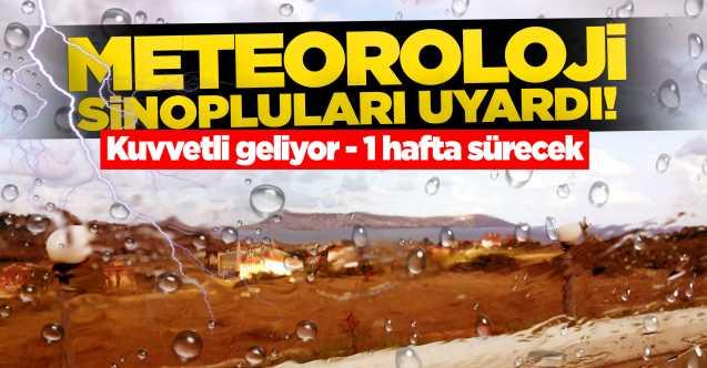 Meteoroloji Sinopluları uyardı: Kuvvetli olacak!