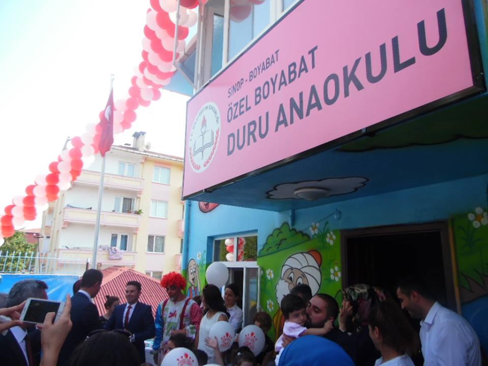 Özel Duru Anaokulu Törenle Açıldı..