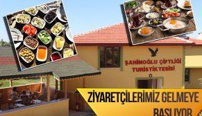 Şahinoğlu Turistik Tesisleri Ziyaretçi Almaya Başlıyor (Video)