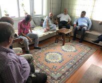 CHP'li Karadeniz'den Eski İlçe Başkanına Ziyaret
