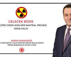 Gelecek Sinop'ta, Çöpe Giden Nükleer Projesi Onlarda Kaldı